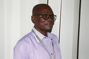 Mr Jacob Otu Higher Scientific Officer on the WANETAM project