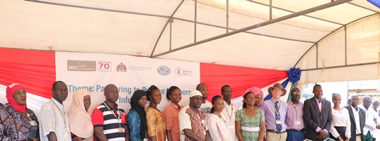 Participants during the event