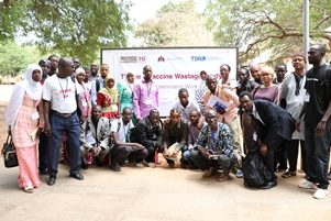 Participants during the Vaccines Wastage Workshop