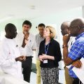 MRC Unit The Gambia at LSHTM Hosts Prof. Fiona Watt, MRC Executive Chair