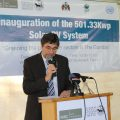 MRCG at LSHTM Inaugurates Biggest Solar Power Generation System in The Gambia