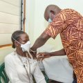 MRCG at LSHTM Frontline Staff Receive First Dose Of AstraZeneca COVID-19 Vaccine